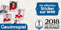 Panini FIFA World Cup Russia 2018? Official Sticker Collection