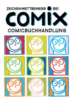 COMIX  Hannover - auch dieses Jahr gibt es wieder einen grossen Zeichenwettbewerb bei Comix