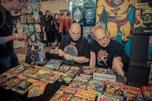 German Comic Con 2017 - Berlin - Rainer F. Engel und Jörg Buttgereit - Klickt hier, um die große Version zu sehen...
