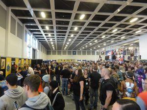 German Comic Con 2017 - Berlin - Mittags um 12 - Klickt hier, um die große Version zu sehen...