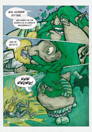 Sir Gawain und der grüne Ritter - Seite 139 - Klickt hier, um die große Version zu sehen...