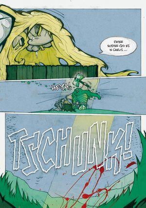 Sir Gawain und der grüne Ritter - Seite 141 - Klickt hier, um die große Version zu sehen...