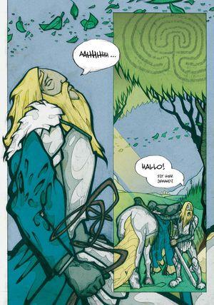 Sir Gawain und der grüne Ritter - Seite 131 - Klickt hier, um die große Version zu sehen...