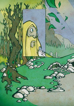 Sir Gawain und der grüne Ritter - Seite 132 - Klickt hier, um die große Version zu sehen...