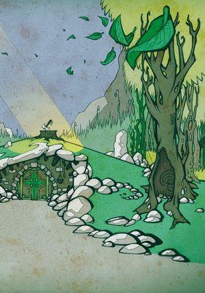Sir Gawain und der grüne Ritter - Seite 133 - Klickt hier, um die große Version zu sehen...