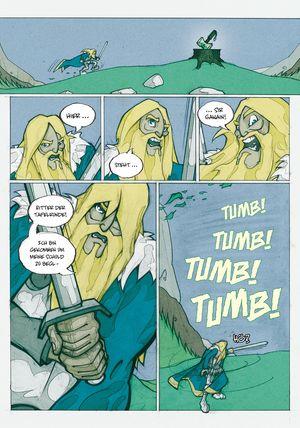 Sir Gawain und der grüne Ritter - Seite 134 - Klickt hier, um die große Version zu sehen...
