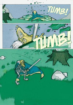 Sir Gawain und der grüne Ritter - Seite 135 - Klickt hier, um die große Version zu sehen...