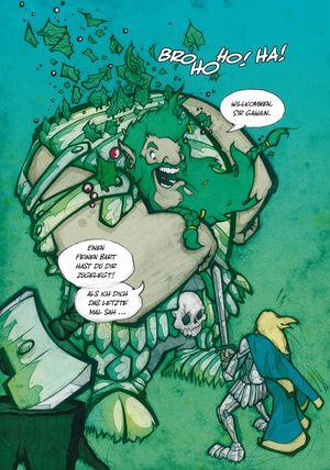 Sir Gawain und der grüne Ritter - Seite 136 - Klickt hier, um die große Version zu sehen...