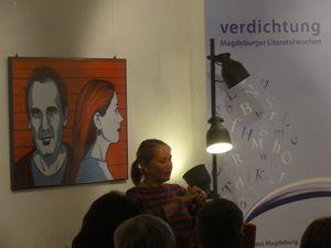 Ausstellungseröffnung von Kat Menschik - Bild 3 - Klickt hier, um die große Version zu sehen...