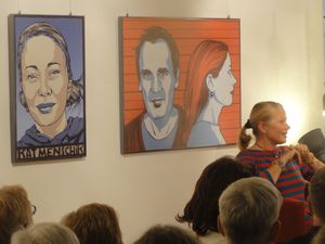 Ausstellungseröffnung von Kat Menschik - Bild 4 - Klickt hier, um die große Version zu sehen...