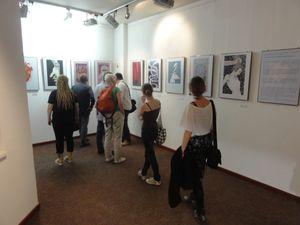 Ausstellungseröffnung von Kat Menschik - Bild 7 - Klickt hier, um die große Version zu sehen...
