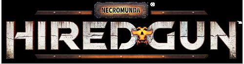 Necromunda Hired Gun Logo