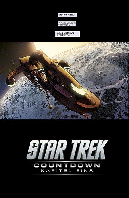 Leseprobe aus Star Trek: Countdown SC - Seite 1