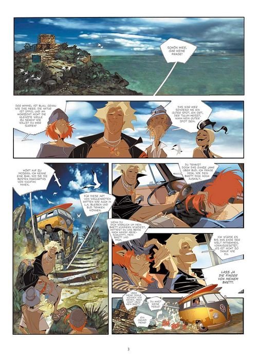 Leseprobe aus Cañari 1 - Seite 3