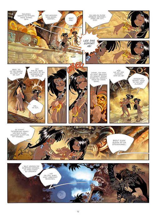 Leseprobe aus Cañari 1 - Seite 12