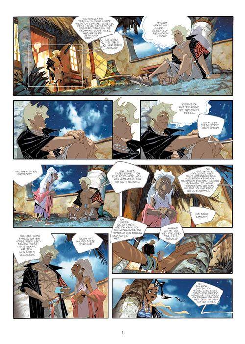 Leseprobe aus Cañari 1 - Seite 5