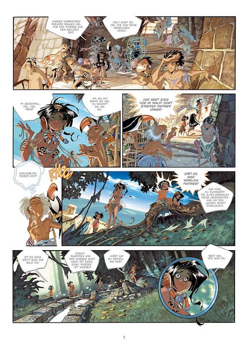 Leseprobe aus Cañari 1 - Seite 7