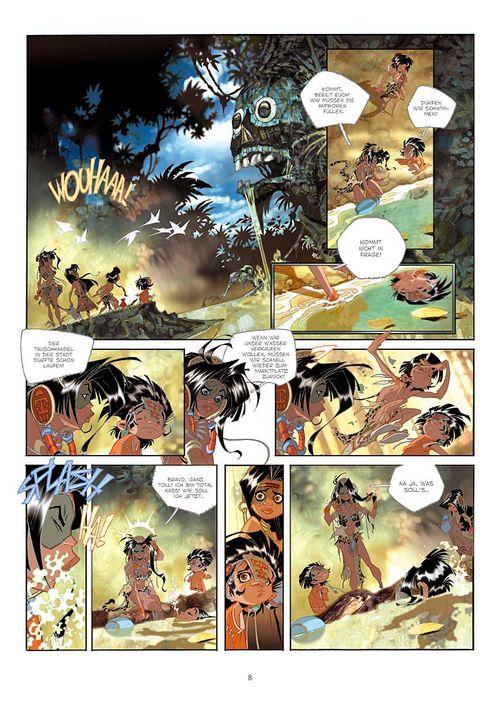 Leseprobe aus Cañari 1 - Seite 8