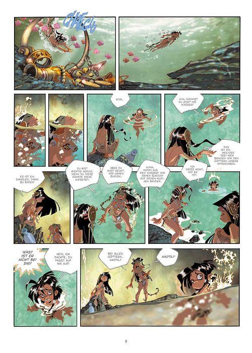 Leseprobe aus Cañari 1 - Seite 9