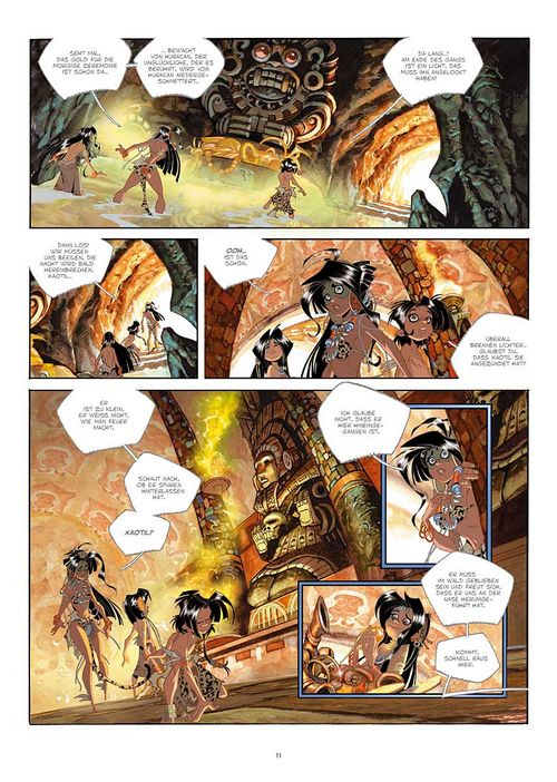 Leseprobe aus Cañari 1 - Seite 11