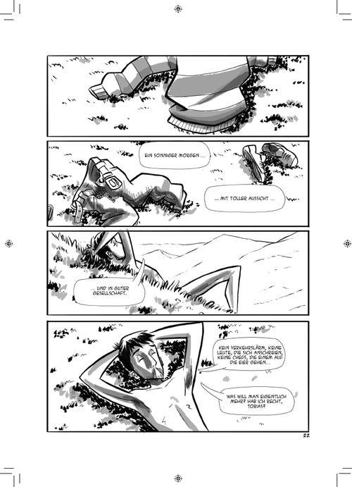 Leseprobe aus Kein Blick zurück Seite 22