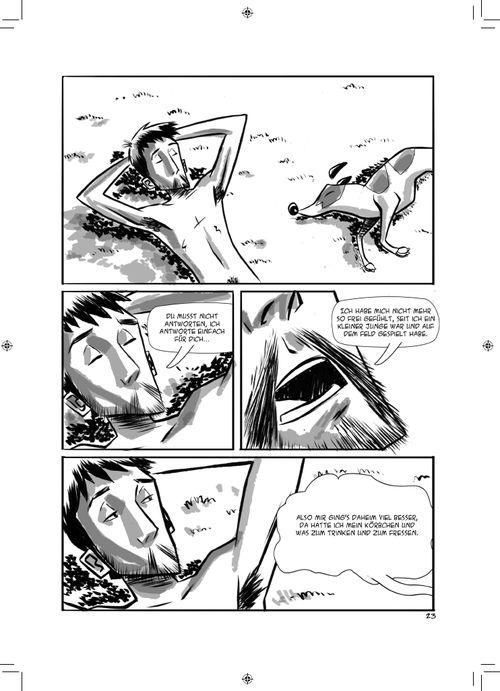 Leseprobe aus Kein Blick zurück Seite 23