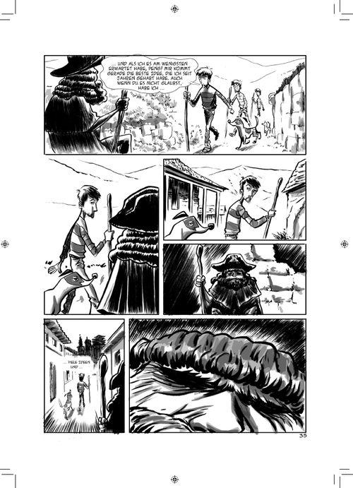 Leseprobe aus Kein Blick zurück Seite 35