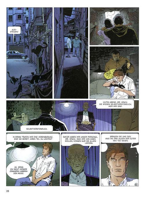 Leseprobe aus Largo Winch 15 - Seite 1