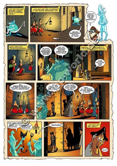 Leseprobe aus Die Domspitzen - Seite 34