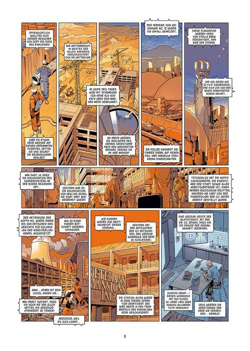 Leseprobe aus Universal War One 6 - Seite 8