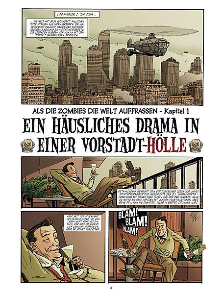 Leseprobe aus Als die Zombies die Welt auffraßen 1 - Seite 3