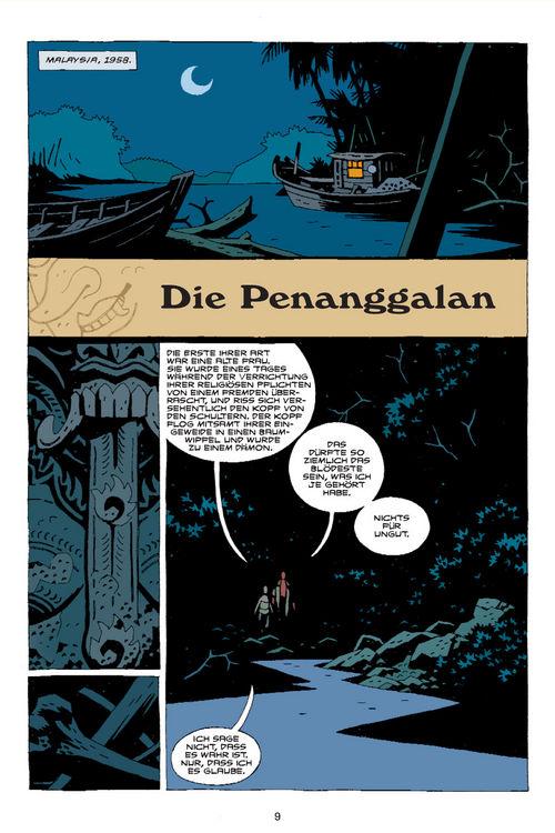 Leseprobe aus Hellboy 8 - Seite 9