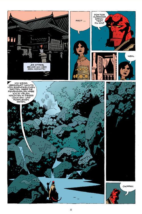 Leseprobe aus Hellboy 8 - Seite 11