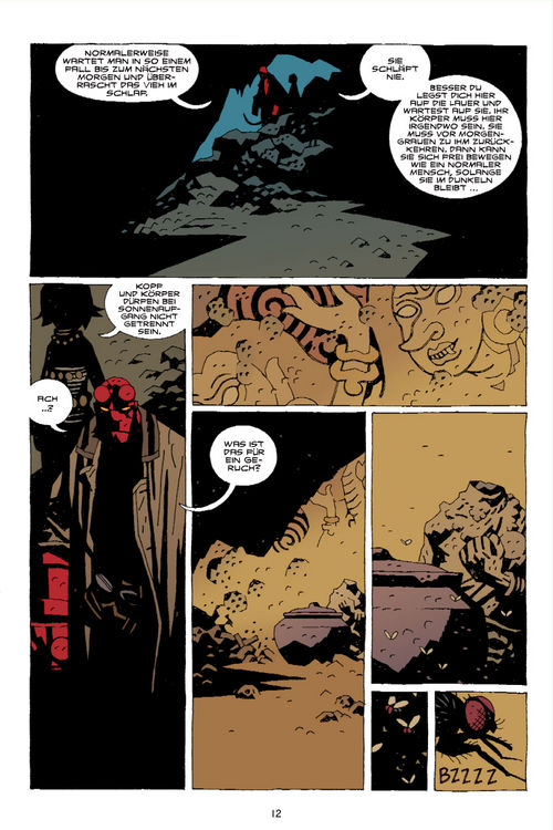 Leseprobe aus Hellboy 8 - Seite 12