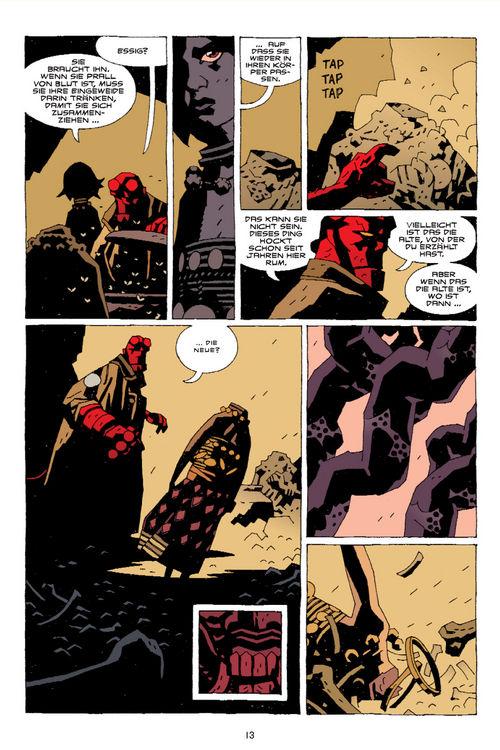 Leseprobe aus Hellboy 8 - Seite 13