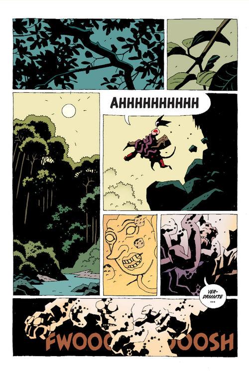 Leseprobe aus Hellboy 8 - Seite 15