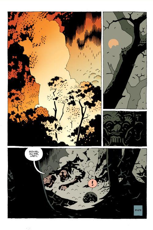 Leseprobe aus Hellboy 8 - Seite 16
