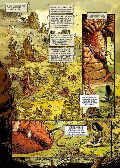 Leseprobe aus Seide und Schwert - Das Wolkenvolk 1 - Seite 1