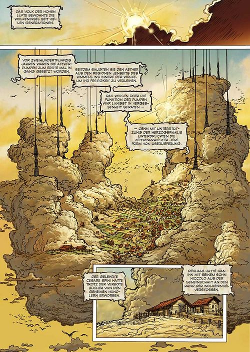 Leseprobe aus Seide und Schwert - Das Wolkenvolk 1 - Seite 6