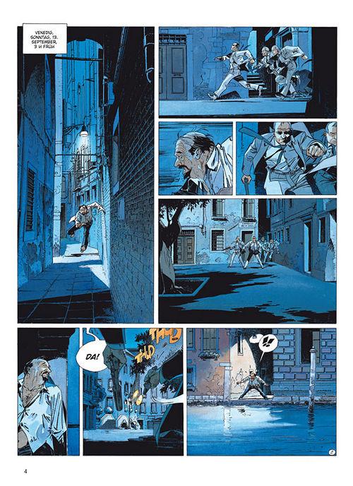 Leseprobe aus Largo Winch 9 - Seite 1