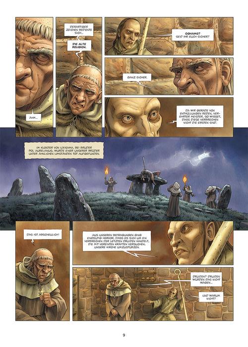 Leseprobe aus Die Druiden 1 - Seite 9