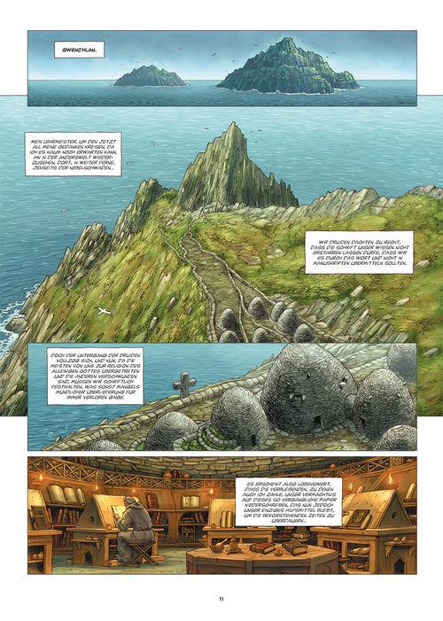 Leseprobe aus Die Druiden 1 - Seite 11