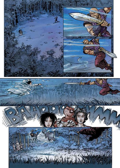 Leseprobe aus Das Wolkenvolk - Seide und Schwert 2 - Seite 1