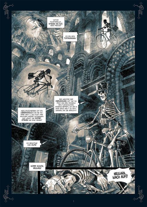 Leseprobe aus Monsieur Mardi-Gras - Unter Knochen 3 - Seite 3