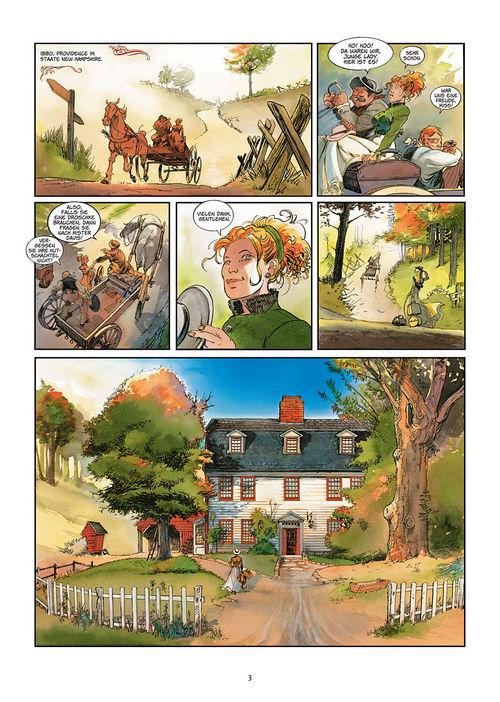 Leseprobe aus Silbermond über Providence 1: Kinder des Abgrunds - Seite 3