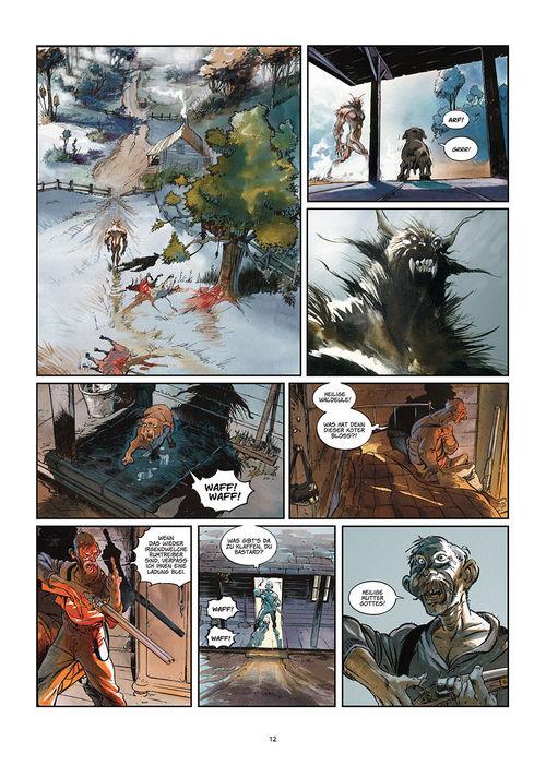 Leseprobe aus Silbermond über Providence 1: Kinder des Abgrunds - Seite 12