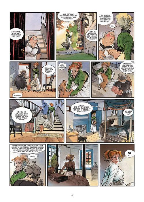 Leseprobe aus Silbermond über Providence 1: Kinder des Abgrunds - Seite 4