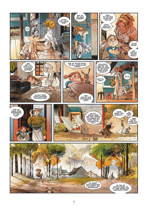 Leseprobe aus Silbermond über Providence 1: Kinder des Abgrunds - Seite 5