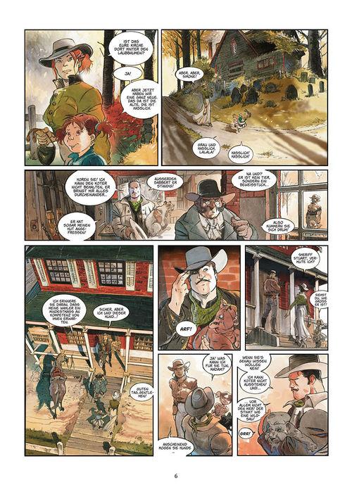 Leseprobe aus Silbermond über Providence 1: Kinder des Abgrunds - Seite 6