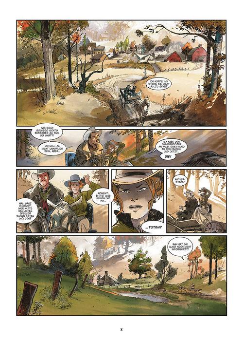 Leseprobe aus Silbermond über Providence 1: Kinder des Abgrunds - Seite 8
